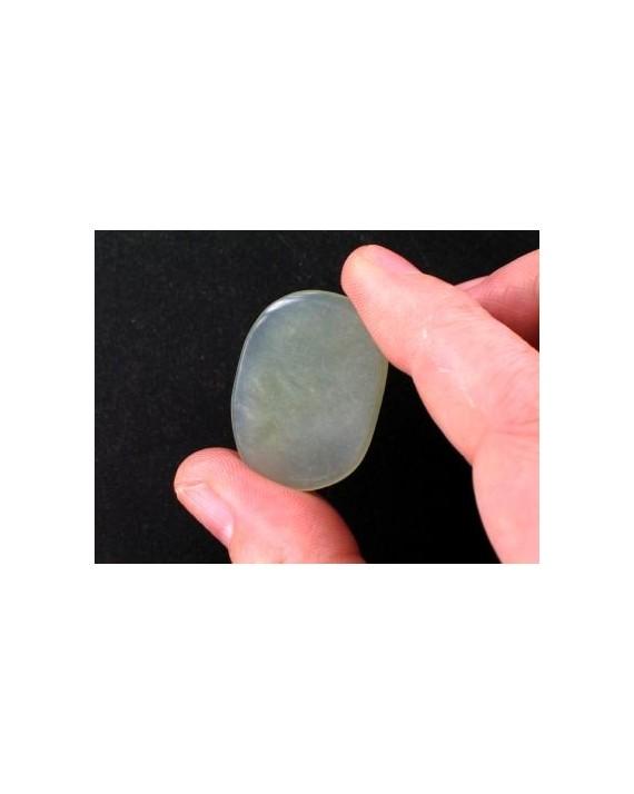 Jade de Chine - Pierre plate