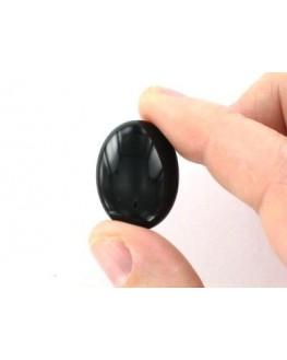 Agate noire cabochon