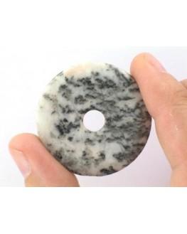 Pendentif - Jaspe zèbre - Donut