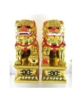 Feng shui - Statuette - Les deux Lions