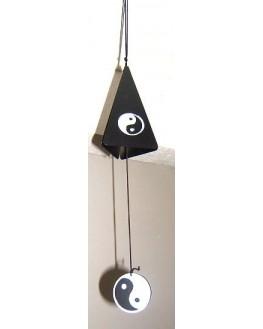 Feng-Shui - Carillon - Ying Yang - Cloche noire