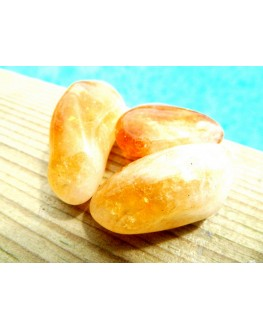 citrine pierre roulée
