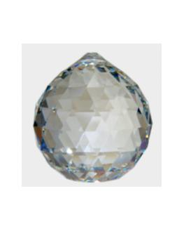 Boule de Cristal à facettes ø 40 mm