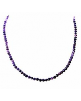 Collier Améthyste 4mm