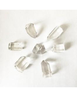 Grille de Reiki : 7 pointes de cristal de roche