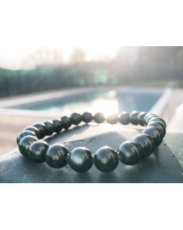 Bracelet malachite 8 mm