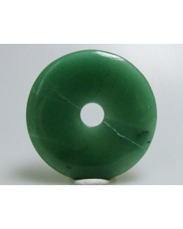 Pendentif donut Aventurine 50mm