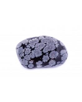 Obsidienne flocon de neige Pierre roulée