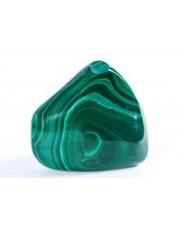 Malachite en pierre roulée