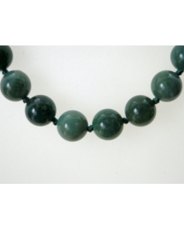 collier Agate Mousse 14mm