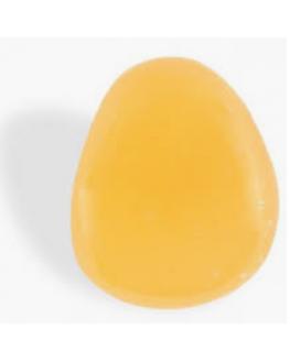Calcite orange  Pierre roulée