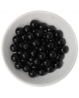 Coffret créatif de perles de Tourmaline noire