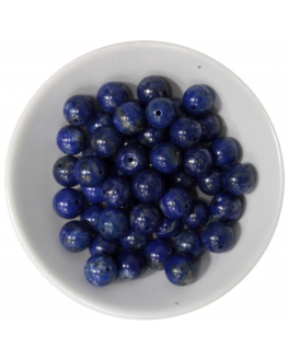 Coffret de Perles Lapis lazuli