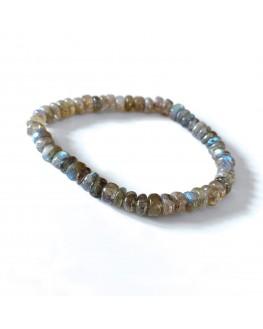 Bracelet labradorite tubes