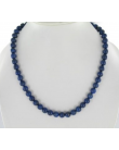 Collier en perles de Lapis-lazuli 8mm