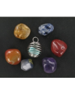 Pendentif aux 7 pierres pour les chakras