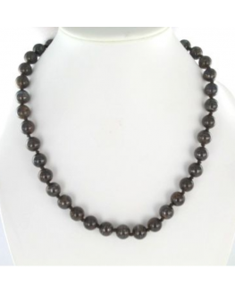 Collier Bronzite 10mm