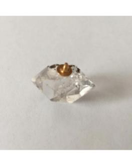 Pendentif Diamant Herkimer brut