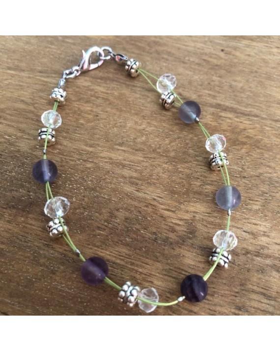 Bracelet Fluorite fantaisie