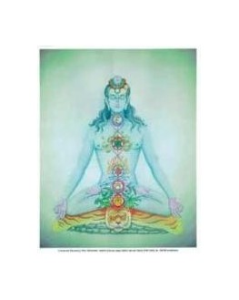 Poster - Chakras et éléments - Johari - Poster