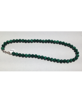 Collier en perles de Malachite 8mm