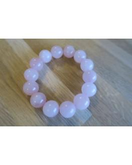 Bracelet quartz rose 14mm