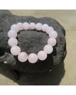 Bracelet quartz rose 14mm