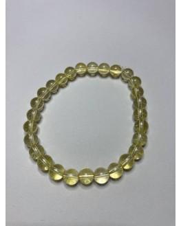 Bracelet citrine perles 6mm