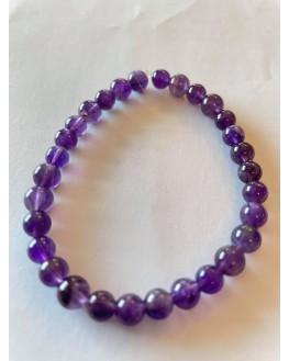 Améthyste - Bracelet 6mm