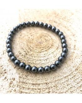 Bracelet - Hématite - Perles 6mm