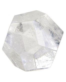 Dodécaèdre Cristal de roche - 3,5 cm - 68g