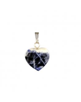 Sodalite - Pendentif Coeur