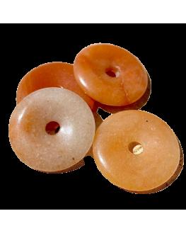 Pendentif Donut Aventurine rose