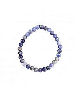 Sodalite - Bracelet en perles de 6 mm