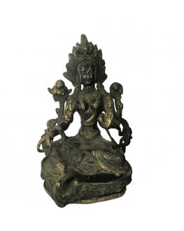 Statuette - Tara - Laiton - Feng shui