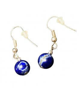 Lapis Lazuli - Boucles d'oreilles