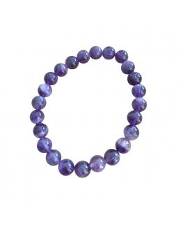 Bracelet Améthyste perles de 8mm