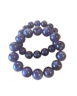Bracelet Améthyste perles de 14mm