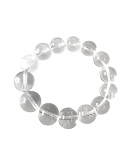 Cristal de roche - Bracelet 12mm