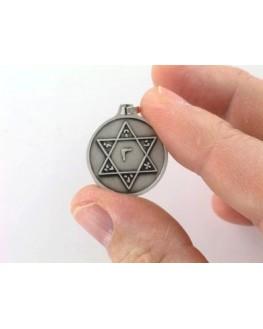 Médaille pentacle - Sceau de Salomon