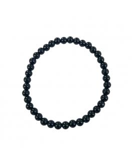 Tourmaline noire- Bracelet 6mm - taille large