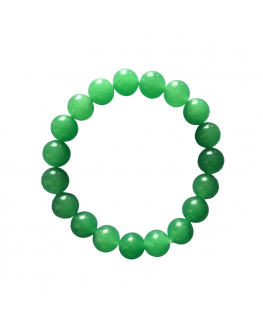 Aventurine - Bracelet de perles 12mm
