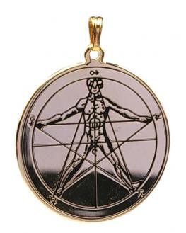 Médaille pentacle - Agrippa