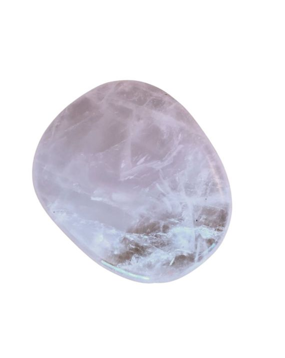 Pierre plate en quartz rose