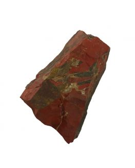 Pierre brute jaspe rouge