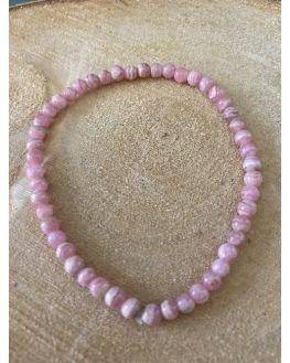 Rhodochrosite bracelet 4mm