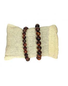 Oeil de taureau - Bracelet - perles et taille au choix