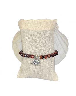 Bracelet oeil de taureau pièce unique