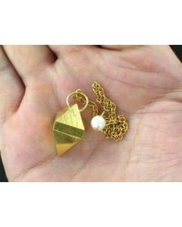 Pendule - Double pyramide - Laiton 16gr