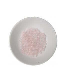 Coffret créatif de perles en Quartz rose